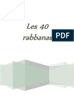 Les 40 Rabbanas