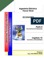 Capitulo 13 - Inversión Rentabilidad