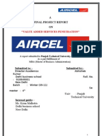 Aircel Final Project Report