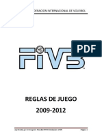 Reglamento de Voley FIVE 2009-2012