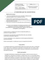 Identif de Materiales Por Caracter.