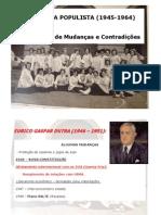 História da Educação República Populista