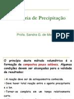 Titrimetria de Precipita+º+úo