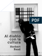 Herbert Read Al Diablo Con La Cultura