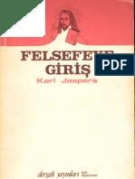 Karl Jaspers - Felsefeye Giriş