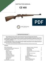 Instruction Manual CZ 455