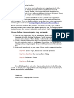 Research Paper Guide 8th Grade