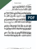 Piano - Mozart - Marcia Turca