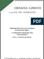 Lapenna, Ivo  - La Internacia Lingvo - Esperanto