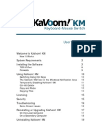 KaVoom! KM User's Manual
