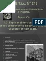 Subestacion Funcionamiento de Los Componentes Electricos de Una Subestacion Elecrtica Compacta
