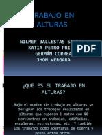 Trabajo en Altura-Wilmer Ballestas Santoya