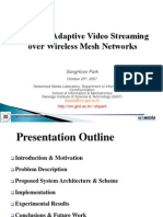 Network Adaptive Video Streaming Over Wireless Mesh Networks 3200