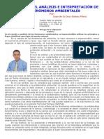 APUNTES PARA EL ANÁLISIS E INTERPRETACIÓN DE LOS FENÓMENOS AMBIENTALES