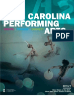 2011-12 Carolina Performing Arts Program Book 1