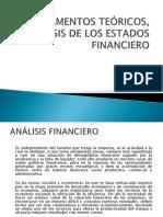FUNDAMENTOS TEÓRICOS, ANÁLISIS DE LOS ESTADOS FINANCIERO