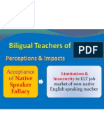 Bilingual English Teacher