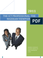 The ICT Professional