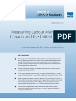 Measuring Labour Markets 2011