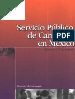 23 Servicio Pblico de Carrera en Mxico