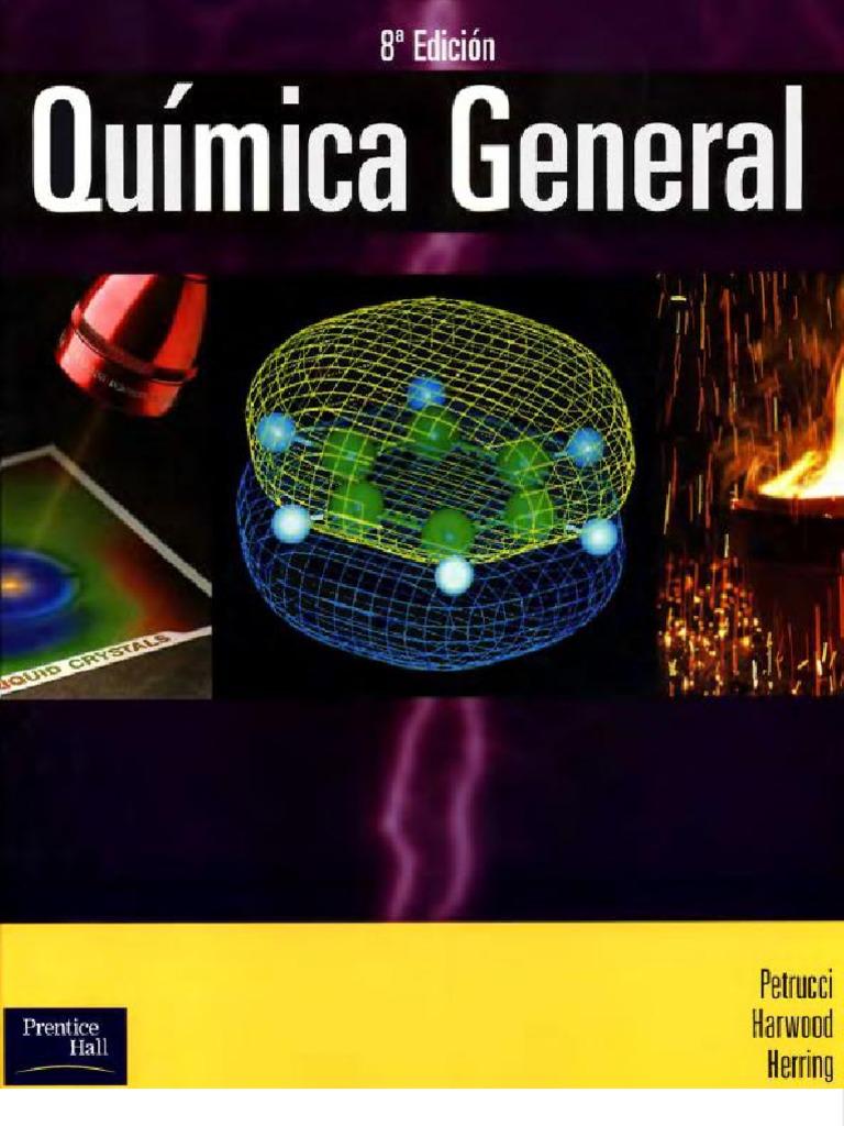 Quimica general petrucci for Resumen del libro quimica en la cocina