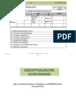 UNIDAD 5 EVALUACIÓN DE PROYEC - ANALISIS FINANCIERO