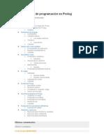 Tutorial básico de programación en Prolog