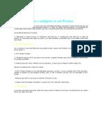 Crear y Configurar Tu Red Wireless
