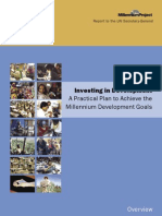 Investing in Development MDGs Practical Plan