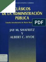 Clasicos de La Admin is Trac Ion Publica