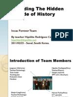 Presentacion de los Profesores Hipolito Rodriguez (Peru) - Jaegyeon Oh (Corea del Sur) en el 1st. E-ICON