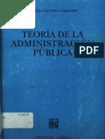 Teoria de La Admin is Trac Ion Publica