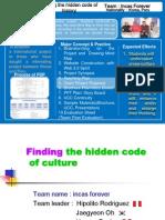 """Sinopsis final del proyecto """"Finding the hidden code of history"""" - Prof. Hipólito Rodríguez (Perú)"""