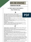 Vocabulrio Do Dicionrio e Glossrio Sobre Roteiro e Cinema_Jorge Machado