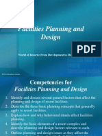 Resort Operations Facilities Planning and Design