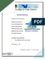 Reporte de Filtro Digital de Señales