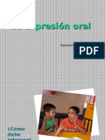 Para Mejorar La Expresión Oral Infantil