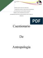 cuestionario de antropologia