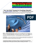 The Tea Party Tsunami Crushing Liberals - Ewart