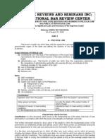Sandoval - Political Law [Pt.1]