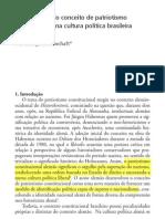 A integração do conceito de patriotismo constitucional na cultura política brasileira - Maria Bunchaft
