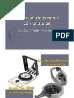 La Brujula y Cortes Geologicos