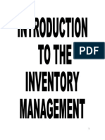 CONNECT, Project Report on Inventory Management of Qtl