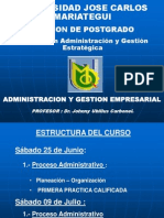 Admin is Trac Ion y Gestion rial