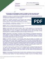 01 P.D. No. 1586 Envl Impact Statement System