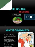 CHIKUNGUNYA an update