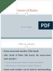 Powers of Karta