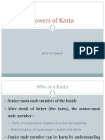Powers of Karta