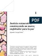Carvajal.2010.Justicia Restaurativa