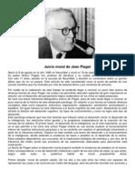 Juicio Moral de Jean Piaget